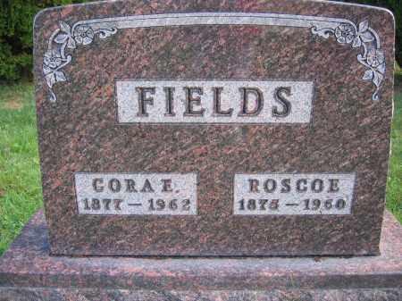 FIELDS, ROSCOE - Union County, Ohio | ROSCOE FIELDS - Ohio Gravestone Photos