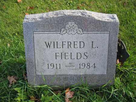 FIELDS, WILFRED L. - Union County, Ohio | WILFRED L. FIELDS - Ohio Gravestone Photos