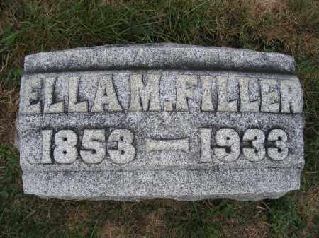 FILLER, ELLA M. - Union County, Ohio | ELLA M. FILLER - Ohio Gravestone Photos