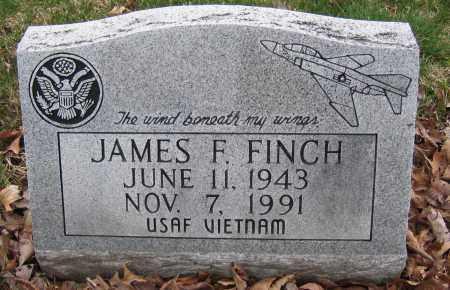FINCH, JAMES F. - Union County, Ohio | JAMES F. FINCH - Ohio Gravestone Photos