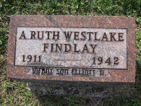 FINDLAY, A. RUTH WESTLAKE - Union County, Ohio | A. RUTH WESTLAKE FINDLAY - Ohio Gravestone Photos