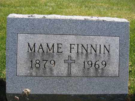 FINNIN, MAME - Union County, Ohio | MAME FINNIN - Ohio Gravestone Photos