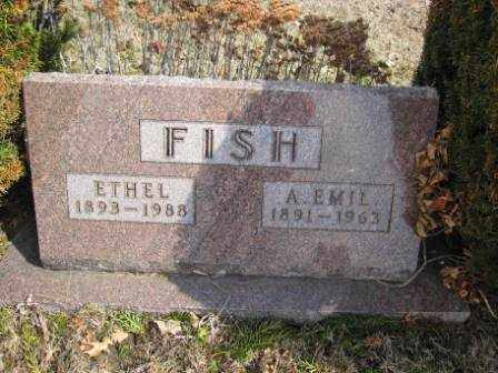 FISH, ETHEL - Union County, Ohio | ETHEL FISH - Ohio Gravestone Photos