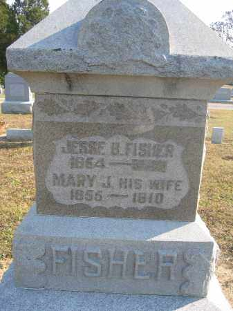 FISHER, MARY J. - Union County, Ohio | MARY J. FISHER - Ohio Gravestone Photos
