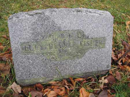 FISHER, LUCY DECKER - Union County, Ohio | LUCY DECKER FISHER - Ohio Gravestone Photos