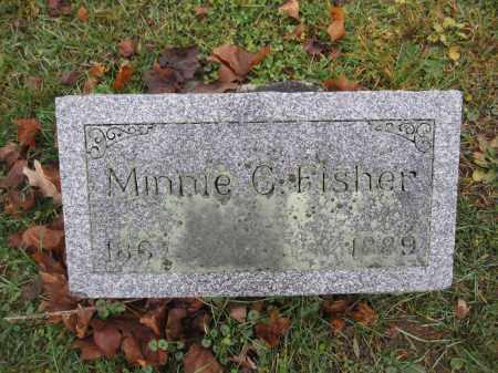 FISHER, MINNIE C. KINNEY - Union County, Ohio | MINNIE C. KINNEY FISHER - Ohio Gravestone Photos