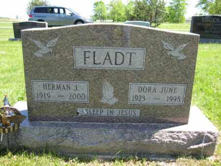 FLADT, HERMAN J. - Union County, Ohio | HERMAN J. FLADT - Ohio Gravestone Photos