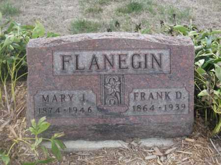 FLANEGIN, FRANK D. - Union County, Ohio   FRANK D. FLANEGIN - Ohio Gravestone Photos