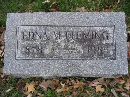 FLEMING, EDNA M. - Union County, Ohio | EDNA M. FLEMING - Ohio Gravestone Photos