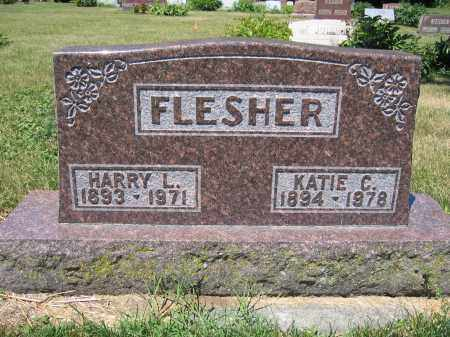 FLESHER, KATIE C. - Union County, Ohio | KATIE C. FLESHER - Ohio Gravestone Photos