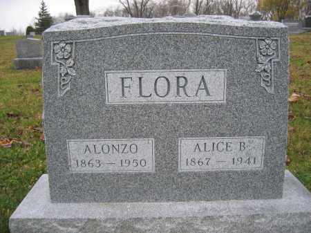 FLORA, ALICE B. - Union County, Ohio | ALICE B. FLORA - Ohio Gravestone Photos