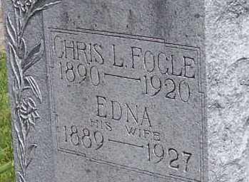 FOGLE, EDNA PEARL EVANS - Union County, Ohio | EDNA PEARL EVANS FOGLE - Ohio Gravestone Photos