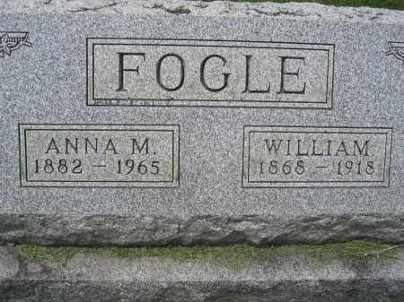 FOGLE, WILLIAM - Union County, Ohio | WILLIAM FOGLE - Ohio Gravestone Photos