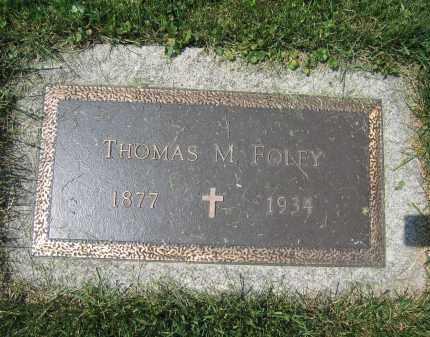 FOLEY, THOMAS M. - Union County, Ohio | THOMAS M. FOLEY - Ohio Gravestone Photos