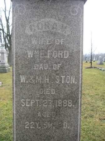 FORD, CORA V. - Union County, Ohio | CORA V. FORD - Ohio Gravestone Photos