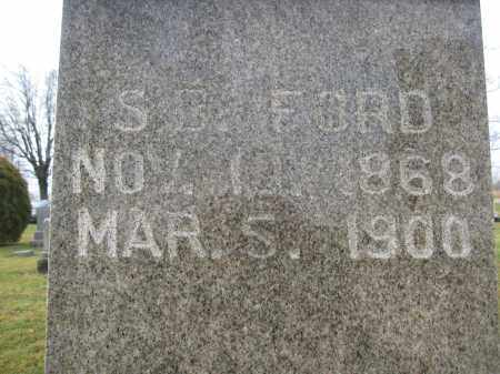 FORD, S.B. - Union County, Ohio | S.B. FORD - Ohio Gravestone Photos