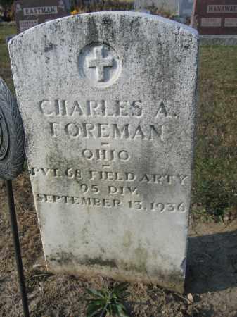 FOREMAN, CHARLES A. - Union County, Ohio | CHARLES A. FOREMAN - Ohio Gravestone Photos
