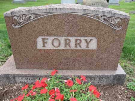 FORRY, MARY E.  BRICKER - Union County, Ohio | MARY E.  BRICKER FORRY - Ohio Gravestone Photos