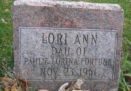 FORTUNE, LORI ANN - Union County, Ohio | LORI ANN FORTUNE - Ohio Gravestone Photos