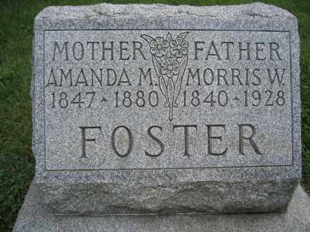 FOSTER, AMANDA M. - Union County, Ohio | AMANDA M. FOSTER - Ohio Gravestone Photos