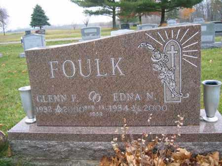 FOULK, EDNA N. - Union County, Ohio | EDNA N. FOULK - Ohio Gravestone Photos