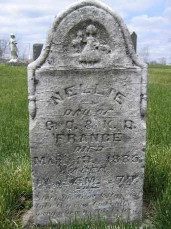 FRANCE, NELLIE - Union County, Ohio | NELLIE FRANCE - Ohio Gravestone Photos