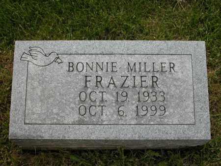 FRAZIER, BONNIE MILLER - Union County, Ohio   BONNIE MILLER FRAZIER - Ohio Gravestone Photos