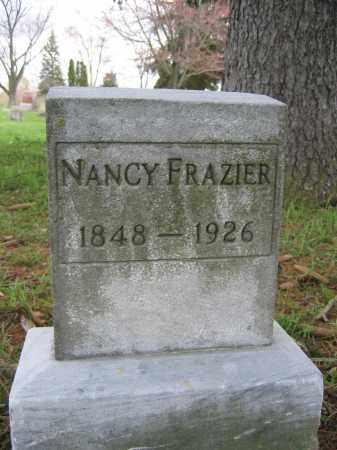 FRAZIER, NANCY - Union County, Ohio | NANCY FRAZIER - Ohio Gravestone Photos