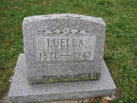 FREEMAN, LUELLA - Union County, Ohio | LUELLA FREEMAN - Ohio Gravestone Photos