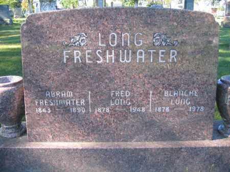 LONG, FRED - Union County, Ohio | FRED LONG - Ohio Gravestone Photos