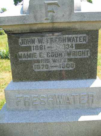 COURTWRIGHT FRESHWATER, MAMIE E. - Union County, Ohio | MAMIE E. COURTWRIGHT FRESHWATER - Ohio Gravestone Photos