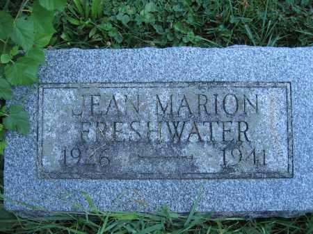 FRESHWATER, JEAN MARION - Union County, Ohio | JEAN MARION FRESHWATER - Ohio Gravestone Photos