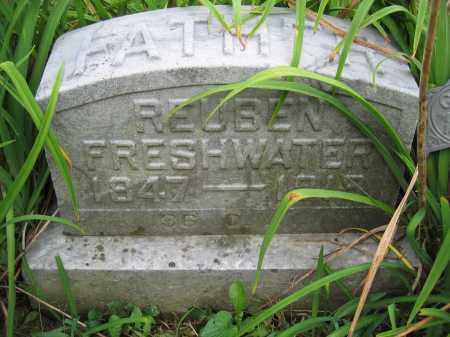 FRESHWATER, REUBEN - Union County, Ohio | REUBEN FRESHWATER - Ohio Gravestone Photos