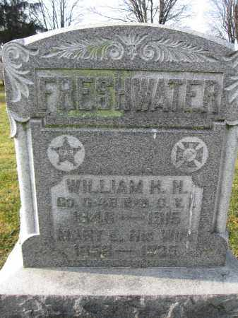 FRESHWATER, MARY EMMA HAWKINS - Union County, Ohio | MARY EMMA HAWKINS FRESHWATER - Ohio Gravestone Photos
