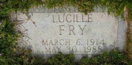 FRY, LUCILLE - Union County, Ohio | LUCILLE FRY - Ohio Gravestone Photos