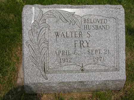 FRY, WALTER S. - Union County, Ohio | WALTER S. FRY - Ohio Gravestone Photos