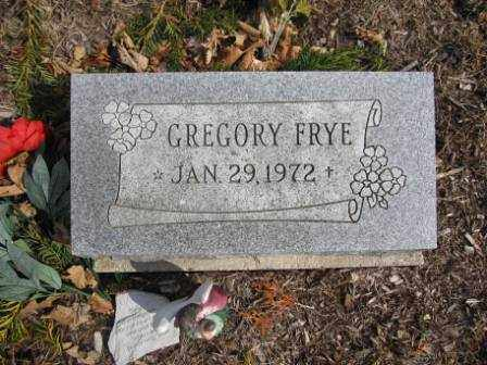 FRYE, GREGORY - Union County, Ohio | GREGORY FRYE - Ohio Gravestone Photos