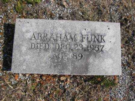 FUNK, ABRAHAM - Union County, Ohio | ABRAHAM FUNK - Ohio Gravestone Photos
