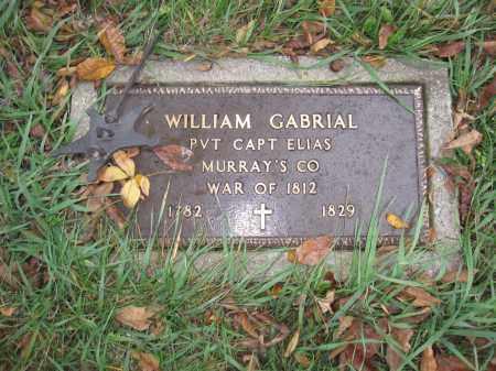 GABRIAL, WILLIAM - Union County, Ohio | WILLIAM GABRIAL - Ohio Gravestone Photos