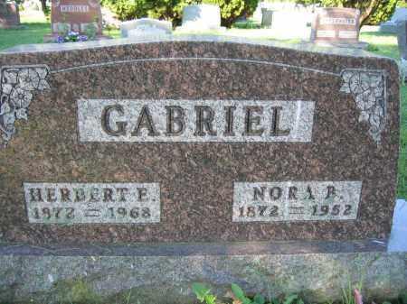 GABRIEL, NORA B. - Union County, Ohio | NORA B. GABRIEL - Ohio Gravestone Photos