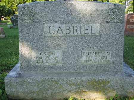 GABRIEL, JOSEPH - Union County, Ohio | JOSEPH GABRIEL - Ohio Gravestone Photos