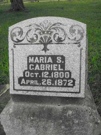 GABRIEL, MARIA S. - Union County, Ohio   MARIA S. GABRIEL - Ohio Gravestone Photos