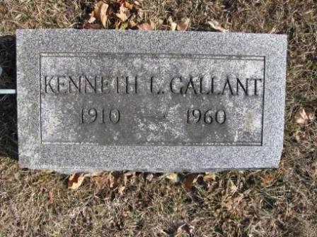 GALLANT, KENNETH L. - Union County, Ohio   KENNETH L. GALLANT - Ohio Gravestone Photos
