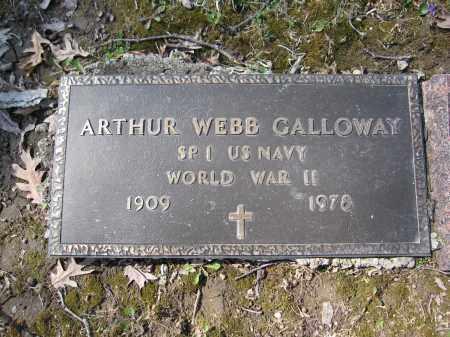 GALLOWAY, ARTHUR WEBB - Union County, Ohio | ARTHUR WEBB GALLOWAY - Ohio Gravestone Photos