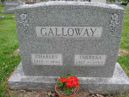 GALLOWAY, CHARLES M. - Union County, Ohio | CHARLES M. GALLOWAY - Ohio Gravestone Photos