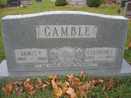 GAMBLE, JAMES F. - Union County, Ohio   JAMES F. GAMBLE - Ohio Gravestone Photos