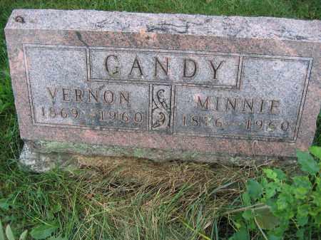 GANDY, MINNIE - Union County, Ohio | MINNIE GANDY - Ohio Gravestone Photos