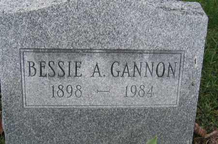 GANNON, BESSIE A. - Union County, Ohio | BESSIE A. GANNON - Ohio Gravestone Photos