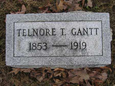 GANTT, TELNORE T. - Union County, Ohio | TELNORE T. GANTT - Ohio Gravestone Photos