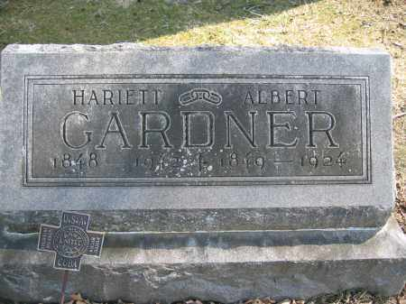 GARDNER, HARIETT - Union County, Ohio | HARIETT GARDNER - Ohio Gravestone Photos